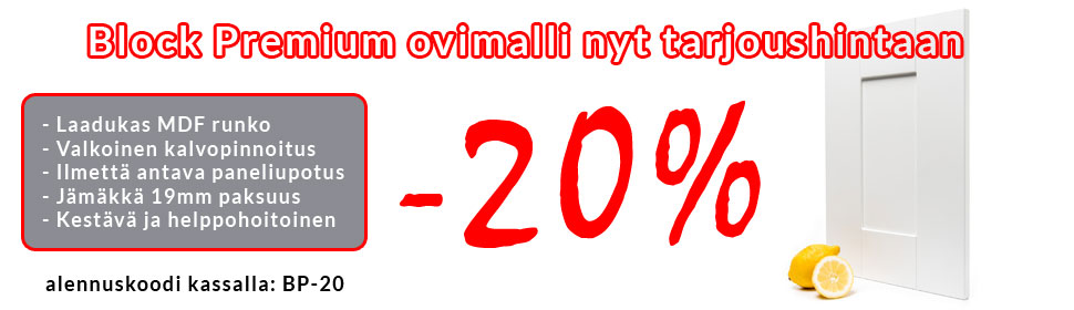 Block Premium tarjous -20%