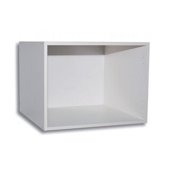 matala yläkomerokaappi esimerkiksi jääkaapin yläpuolelle